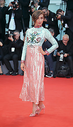 September 3, 2017 - Venice, Italy - Stella Egitto walks the red carpet ahead of the 'The Leisure Seeker (Ella & John)' screening during the 74th Venice Film Festival  in Venice, Italy, on September 3, 2017. (Credit Image: © Matteo Chinellato/NurPhoto via ZUMA Press)