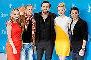 15.FEBRUARY.2013. BERLIN<br /> <br /> NICOLAS CAGE, EMMA STONE, KIRK DeMICCO, JANIN REINHARDT AND UWE OCHSENKNECHT ATTEND 'THE CROODS' PHOTOCALL AT THE 63RD BERLIN INTERNATIONAL FILM FESTIVAL.<br /> <br /> BYLINE: EDBIMAGEARCHIVE.CO.UK<br /> <br /> *THIS IMAGE IS STRICTLY FOR UK NEWSPAPERS AND MAGAZINES ONLY*<br /> *FOR WORLD WIDE SALES AND WEB USE PLEASE CONTACT EDBIMAGEARCHIVE - 0208 954 5968*