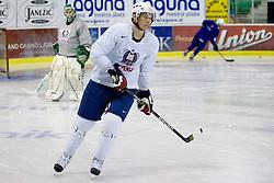 Jan Urbas at first practice of Slovenian National Ice hockey team before World championship of Division I - group B in Ljubljana, on April 5, 2010, in Hala Tivoli, Ljubljana, Slovenia.  (Photo by Vid Ponikvar / Sportida)