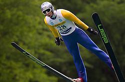 Ziga Mandl of SSK Costella Ilirija during Ski Jumping Summer Continental Cup in Kranj, on July 2, 2011, in Kranj, Slovenia. (Photo by Vid Ponikvar / Sportida)
