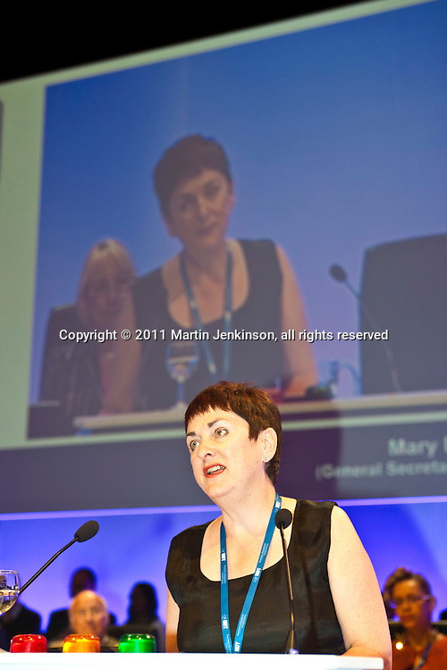 Mary Bousted, ATL General Secretary, speaking at the NUT Conference 2011.