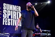 Common performs during the Summer Spirit Festival at Merriweather Post Pavilion in Columbia, Md on Saturday, August 5, 2017.