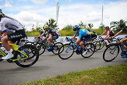 Lourdes Oyarbide (ESP) at Stage 2 of 2019 OVO Women's Tour, a 62.5 km road race starting and finishing in the Kent Cyclopark in Gravesend, United Kingdom on June 11, 2019. Photo by Sean Robinson/velofocus.com