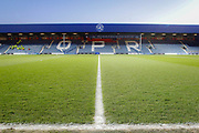 General stadium view inside Loftus Road Stadium before The FA Cup 5th round match between Queens Park Rangers and Watford at the Loftus Road Stadium, London, England on 15 February 2019.