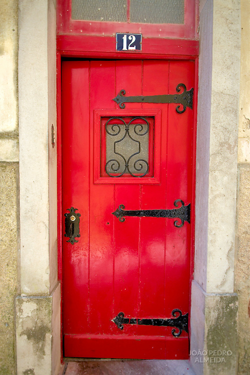 Door of old house at Sintra