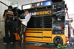 June 1, 2018 - Long Pond, Pennsylvania, United States of America - Jamie McMurray (1) hangs out in the garage during practice for the Pocono 400 at Pocono Raceway in Long Pond, Pennsylvania. (Credit Image: © Justin R. Noe Asp Inc/ASP via ZUMA Wire)