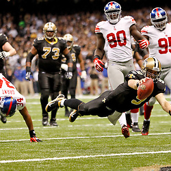 11-28-2011 New York Giants at New Orleans Saints