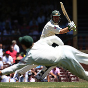 Australian captain Ricky Ponting in action during day four of the third test match between Australia and South Africa at the Sydney Cricket Ground on January 6, 2009 in Sydney, Australia. Photo Tim Clayton