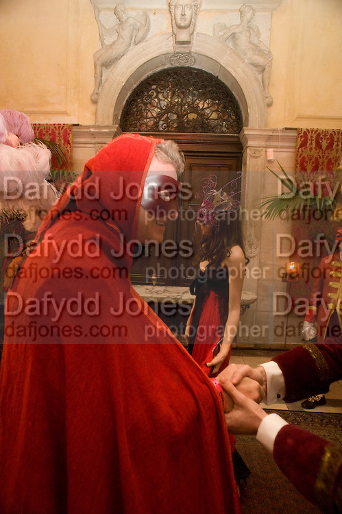 GUIDO TORLONIA, -Francesca Bortolotto Possati, Alessandro and Olimpia host Carnevale 2009. Venetian Red Passion. Palazzo Mocenigo. Venice. February 14 2009.  *** Local Caption *** -DO NOT ARCHIVE -Copyright Photograph by Dafydd Jones. 248 Clapham Rd. London SW9 0PZ. Tel 0207 820 0771. www.dafjones.com<br /> GUIDO TORLONIA, -Francesca Bortolotto Possati, Alessandro and Olimpia host Carnevale 2009. Venetian Red Passion. Palazzo Mocenigo. Venice. February 14 2009.
