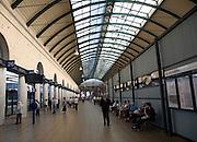 Bus station transport interchange, Hull, Yorkshire, England