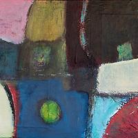 Textured mixed media painting. Acrylic and mixed media paintings