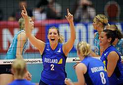 26-04-2008 VOLLEYBAL: DELA MARTINUS - AMVJ: AMSTELVEEN<br /> Martinus landskampioen 2007-2008 - Annelies Mulder<br /> &copy;2008-WWW.FOTOHOOGENDOORN.NL