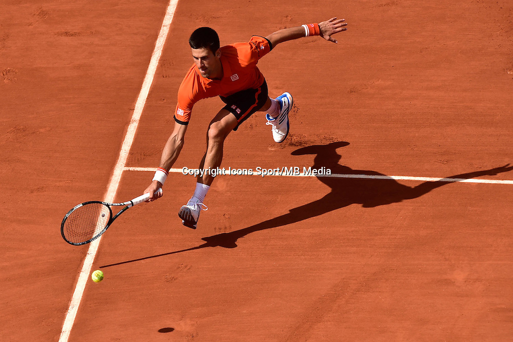 Novak DJOKOVIC - 03.06.2015 - Jour 11 - Roland Garros 2015 <br />