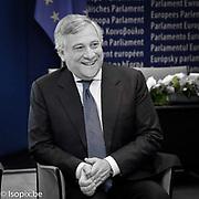 Antonio TAJANI - EP President meets with Ms Beatrice Fihn<br />  Nobel Peace Prize 2017
