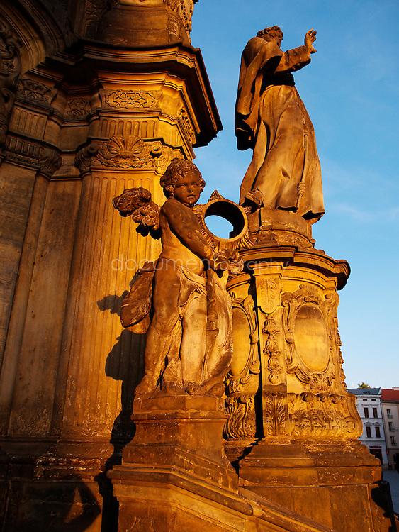 Holy Trinity Column, Olomouc, Czech republic.