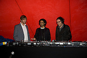 MICHAEL RAEDECKER; BABAK GHAZI; DEXTER DALWOOD; , The Hayward Gallery 40th birthday Gala. hayward Gallery. South Bank. 9 July 2008 *** Local Caption *** -DO NOT ARCHIVE-© Copyright Photograph by Dafydd Jones. 248 Clapham Rd. London SW9 0PZ. Tel 0207 820 0771. www.dafjones.com.