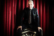 French designer Jean Paul Gaultier poses for a portrait  on June 3rd   2016.<br /> <br /> Photos Ki Price for The Times