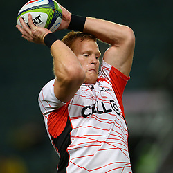 DURBAN, SOUTH AFRICA, 9,JULY, 2016 Philip van der Walt of the Cell C Sharks during The Cell C Sharks vs Toyota Cheetahs  Super Rugby Match at Growthpoint Kings Park in Durban, South Africa. (Photo by Steve Haag)<br /> <br /> images for social media must have consent from Steve Haag