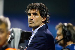 Zoran Mamic, head coach of GNK Dinamo Zagreb before football match between GNK Dinamo Zagreb, CRO and Arsenal FC, ENG in Group F of Group Stage of UEFA Champions League 2015/16, on September 16, 2015 in Stadium Maksimir, Zagreb, Croatia. Photo by Urban Urbanc / Sportida