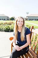 Petra Persson på Stanford University, Kalifornien.