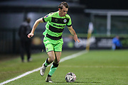 Forest Green Rovers Theo Archibald(18) during the The FA Cup 1st round replay match between Forest Green Rovers and Oxford United at the New Lawn, Forest Green, United Kingdom on 20 November 2018.