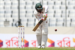 August 29, 2017 - Mirpur, Dhaka, Bangladesh - Bangladeshi Captain Mushfiqur Rahim plays a shot during day three of the First Test match between Bangladesh and Australia at Shere Bangla National Stadium on August 29, 2017 in Mirpur, Bangladesh. (Credit Image: © Ahmed Salahuddin/NurPhoto via ZUMA Press)