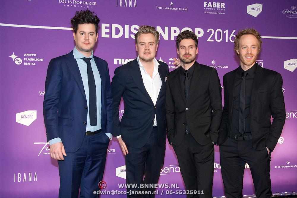 NLD/Amsterdam/20160321 - Edison Pop Awards 2016, Haeven