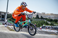 Men Elite #313 (KIMMANN Niek) NED the 2018 UCI BMX World Championships in Baku, Azerbaijan.