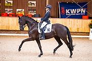 Anique Frans - Kapri Sun<br /> KNHS Indoorkampioenschappen 2020<br /> © DigiShots