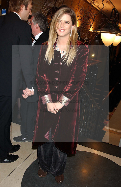 Actress IMOGEN STUBBS at the 2005 Whitbread Book Awards 2005 held at The Brewery, Chiswell Street, London EC1 on 24th January 2006. The winner of the 2005 Book of the Year was Hilary Spurling for her biography 'Matisse the Master'.<br />