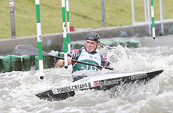 July 1, 2018 - Krakow, Poland - 2018 ICF Canoe Slalom World Cup 2 in Krakow. Day 2. On the picture: BRADLEY FORBES-CRYANS (Credit Image: © Damian Klamka via ZUMA Wire)