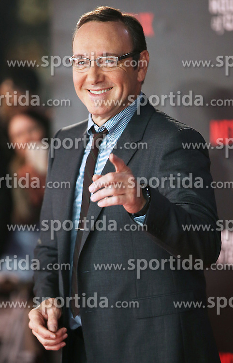 Kevin Spacey attends the World Premiere of 'House of Cards' Season 3 at The Empire Cinema on February 26, 2015 in London, England. EXPA Pictures &copy; 2015, PhotoCredit: EXPA/ Photoshot/ James Shaw<br /> <br /> *****ATTENTION - for AUT, SLO, CRO, SRB, BIH, MAZ only*****
