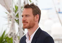 Actor Michael Fassbender at the Macbeth film photo call at the 68th Cannes Film Festival Saturday 23rd May 2015, Cannes, France.
