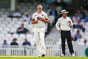 Darren Stevens of Kent bowling shows frustration during the Specsavers County Champ Div 1 match between Surrey County Cricket Club and Kent County Cricket Club at the Kia Oval, Kennington, United Kingdom on 10 July 2019.