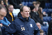 Simon Grayson during the Sky Bet Championship match between Preston North End and Brentford at Deepdale, Preston, England on 23 January 2016. Photo by Pete Burns.