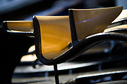 May 24-27, 2017: Monaco Grand Prix. Sauber front wing detail