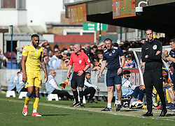 Bristol Rovers manager Graham Coughlan watches on - Mandatory by-line: Arron Gent/JMP - 19/04/2019 - FOOTBALL - Cherry Red Records Stadium - Kingston upon Thames, England - AFC Wimbledon v Bristol Rovers - Sky Bet League One