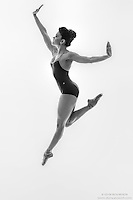 Black and white dance photography-Hold -featuring ballerina Zui Gomez