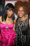 l to r: Allyson Leakes and Free at The She-Blogs Launch Party sponsored by Belevedere Vodka and held at Saks Fifth Avenue on July 23, 2009 in New York City..Founded by Allyson Leakes, She-blogs.com is an empowerment blog geared to inspire women to reach fro their dreams and to help them realize that they can lead happy, balance and fulfiling lives