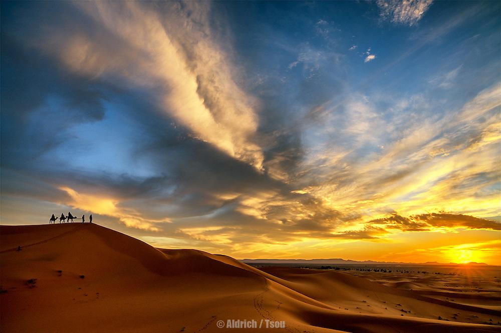 Erg Chebbi Desert, Morocco
