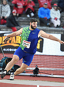 Mason Finley (USA) places seventh in the discus at 203-11 (62.16m) during the Bauhaus-Galan in a IAAF Diamond League meet at Stockholm Stadium in Stockholm, Sweden on Thursday, May 30, 2019. (Jiro Mochizuki/Image of Sport)