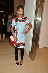 TOLULA ADEYEMI at Fashions for The Future presented by Oceana's Junior Council held at Phillips Auction House, 30 Berkeley Square, London on 19th March 2015.