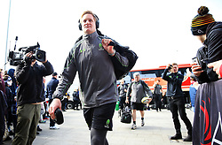 GJ van Velze of Worcester Warriors arrives at the AJ Bell Stadium - Mandatory by-line: Matt McNulty/JMP - 24/03/2018 - RUGBY - AJ Bell Stadium - Manchester, England - Sale Sharks v Worcester Warriors - Aviva Premiership