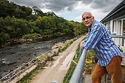Keven Frea, local resident and organiser of Halton Lune Hydro, Halton, Lancashire.