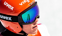29.01.2017, Casino Arena, Seefeld, AUT, FIS Weltcup Nordische Kombination, Seefeld Triple, Skisprung, im Bild Eric Frenzel (GER) // Eric Frenzel of Germany reacts after his Competition Jump of Skijumping of the FIS Nordic Combined World Cup Seefeld Triple at the Casino Arena in Seefeld, Austria on 2017/01/29. EXPA Pictures © 2017, PhotoCredit: EXPA/ JFK