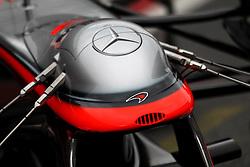 09.03.2011, Circuit de Catalunya, Barcelona, ESP, Formel 1 Test 4 2011,  im Bild McLaren -  Nose Measuring Devices.   EXPA Pictures © 2011, PhotoCredit: EXPA/ nph/  Poleposition.at       ***** only AUT, SLO ******