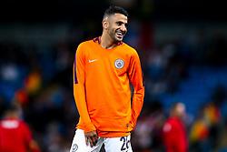 Riyad Mahrez of Manchester City - Mandatory by-line: Robbie Stephenson/JMP - 19/09/2018 - FOOTBALL - Etihad Stadium - Manchester, England - Manchester City v Lyon - UEFA Champions League Group F