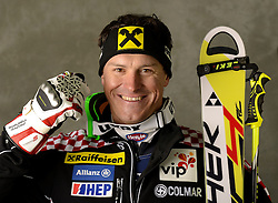 13.02.2013, Planai, Schladming, AUT, FIS Weltmeisterschaften Ski Alpin, Super Kombination, Herren, Medaillen Praesentation, im Bild Ivica Kostelic (CRO) Silbermedaillen Gewinner // Ivica Kostelic of Croatia poses with his Sliver Medal during Mens Super Combined Medal Presentation at the FIS Ski World Championships 2013 at the Planai Course, Schladming, Austria on 2013/02/13 ***** ACHTUNG: VERÖFFENTLICHUNGS- SPERRFRIST 18:30 Uhr ***** Bild bei redaktioneller Verwendung honorarfrei // ***** PLEASE NOTE: Publication EMBARGO 18:30 clock *****. EXPA Pictures © 2013, PhotoCredit: EXPA/ Erich Spiess