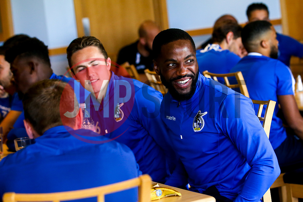 Gabriel Osho of Bristol Rovers during the first day of preseason training ahead of the 2019/20 Sky Bet League One Season - Mandatory by-line: Robbie Stephenson/JMP - 27/06/2019 - FOOTBALL - The Lawns - Bristol, England - Bristol Rovers Return for Preseason Training