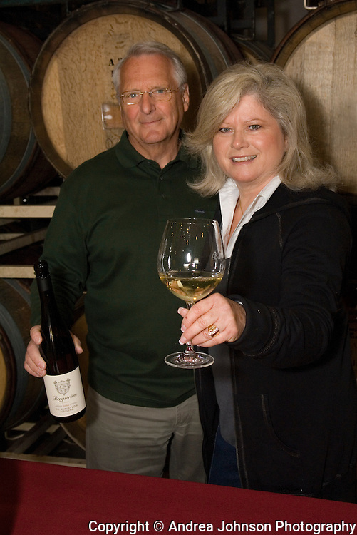 John & Karen Bergström, Bergström winery, Yamhill-Carlton AVA, Willamette Valley, Oregon